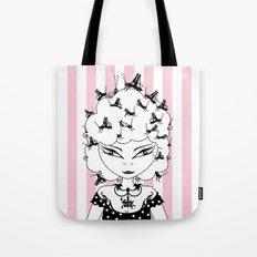 Lady CriCri Tote Bag