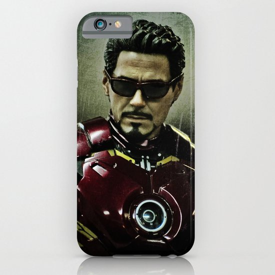 Tony Stark in Iron man costume  iPhone & iPod Case