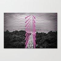 Surreal Beachscape Canvas Print