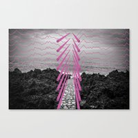Surreal Beachscape Canvas Print