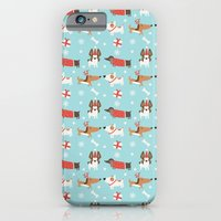 A Dog's Christmas iPhone 6 Slim Case