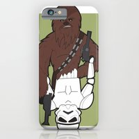 Chewbacca and Stormtrooper iPhone 6 Slim Case