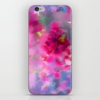 Spring floral paint 1 iPhone & iPod Skin
