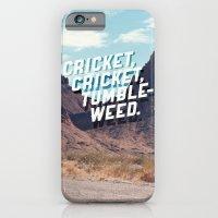 iPhone & iPod Case featuring Cricket, cricket, tumbleweed. by Grafiskanstalt
