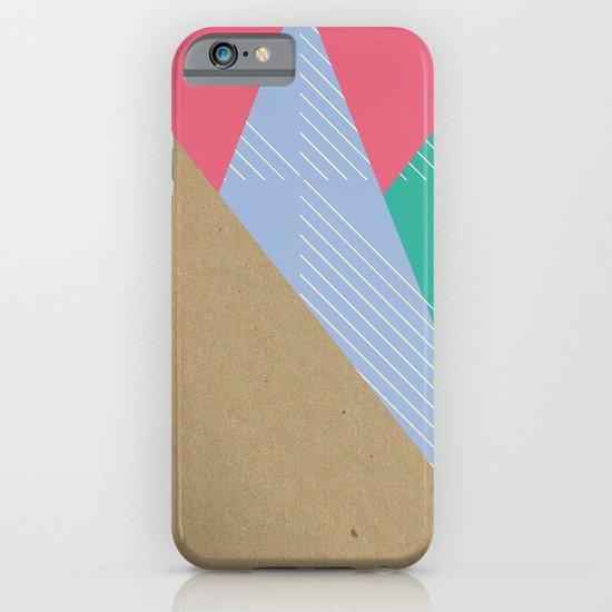 Cardboard & Combo Stripes iPhone & iPod Case