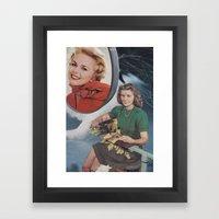 Collage No.55 Framed Art Print