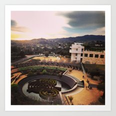The Getty 1/22/13 Art Print