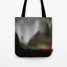 Golden World Landscape Tote Bag