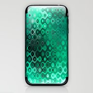 Wobbly Dots Light In Min… iPhone & iPod Skin