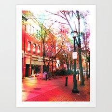 Salem Lights Art Print