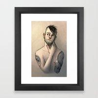 RAPH Framed Art Print