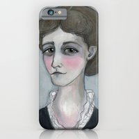 The Age of Wharton, Literary Portrait iPhone 6 Slim Case