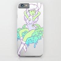 spacegirls are easy iPhone 6 Slim Case