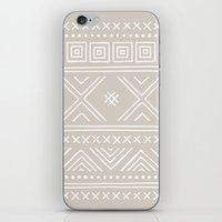 Into the West - in Taupe iPhone & iPod Skin