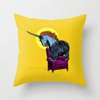 Get Off The Furniture, U… Throw Pillow