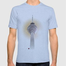 Berlin Love Mens Fitted Tee Athletic Blue SMALL