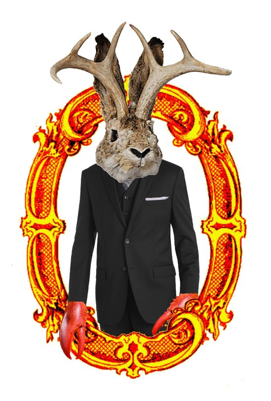 Jackalope Evolved Art Print