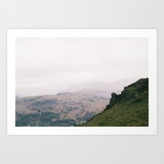 Lakes Art Print