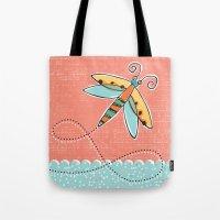 Summer Buzzin' Tote Bag