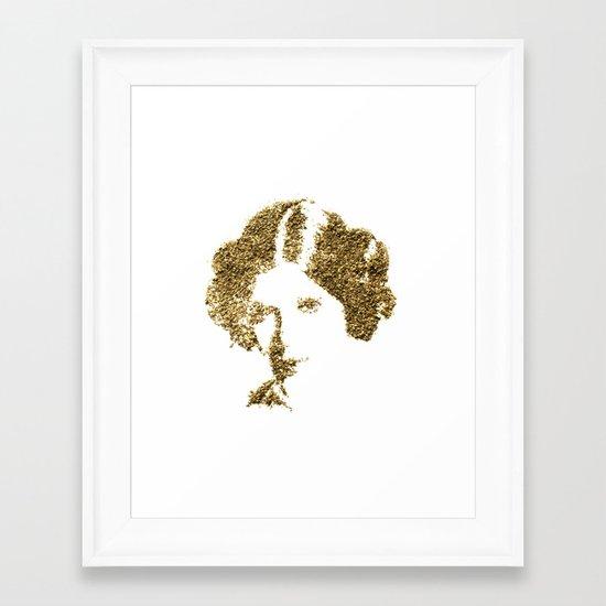 Spices Leia - Oregano Framed Art Print