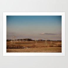 Maryland Landscape 2 Art Print