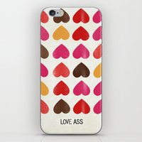 LOVE ASS iPhone & iPod Skin