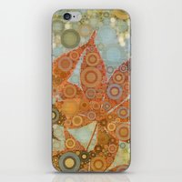 Perky Maple Leaf Abstrac… iPhone & iPod Skin