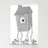 Lanky Land Stationery Cards