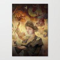 Silent Visions Canvas Print