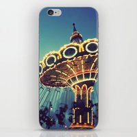 Blue Hour At The Carniva… iPhone & iPod Skin