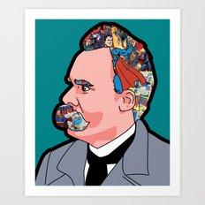 Mix - Nietzsche Art Print