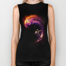 Space Surfing Biker Tank