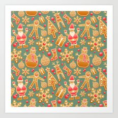 Merry Christmas 5 Art Print