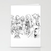 Transit People Stationery Cards