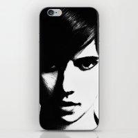 Slender Face iPhone & iPod Skin