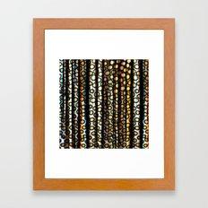 In Jungle, Too ... Framed Art Print