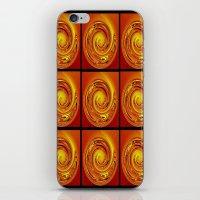 Abstract Collage Orange … iPhone & iPod Skin