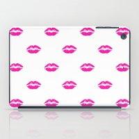 Pink Lipstick iPad Case