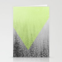 NEON NATURE   Green Stationery Cards