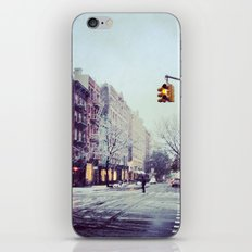 First Snow In The City iPhone & iPod Skin