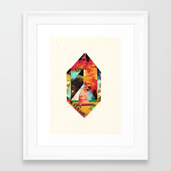 I'm New Here Framed Art Print