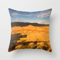 Return To The Painted Hi… Throw Pillow