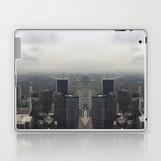 Central Park in the Fog Laptop & iPad Skin