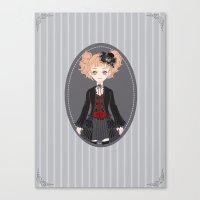 Lucy (Dark Version) Canvas Print