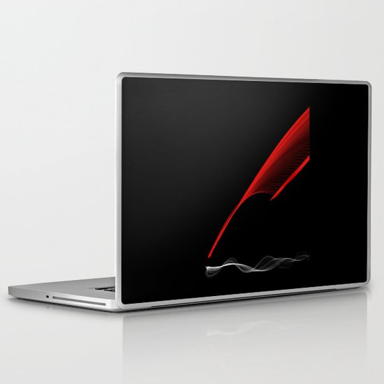 SilveRed Laptop & iPad Skin