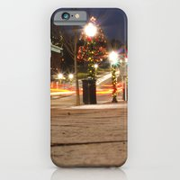 iPhone & iPod Case featuring Downtown Blacksburg Christmas by Holly Cromer