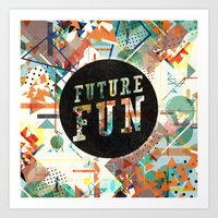 Future Fun Art Print
