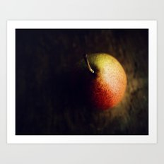 Pear romance Art Print