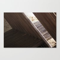 Canvas Print featuring The Lounge by Elise Tyv