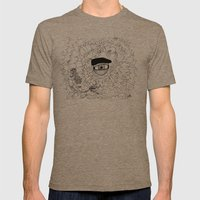 The Eye In The Sky Mens Fitted Tee Tri-Coffee SMALL